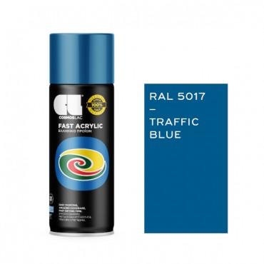 Spray Fast Acrylic Traffic Blue RAL 5017 400ml
