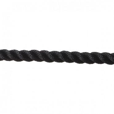 Σχοινί Στριφτό Πολυεστερικό 14mm Μαύρο