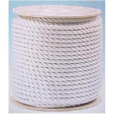 Σχοινί Βυθού Στριφτό 10mm Λευκό